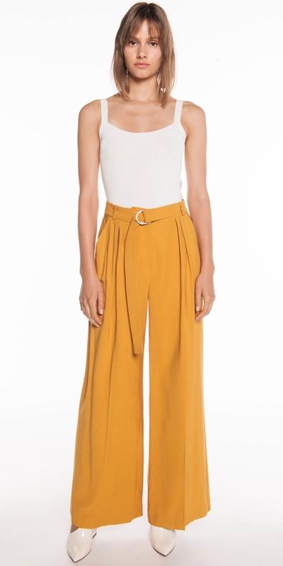 Pants | Mustard Wide Leg pant