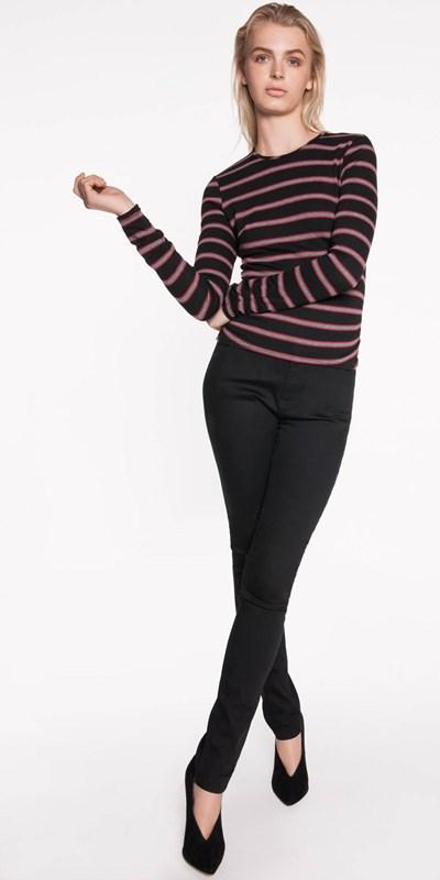 Sale | Stripe Knit Top