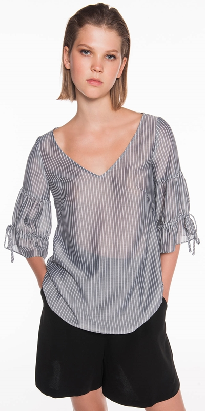 Shirts  | Soft Stripe Top