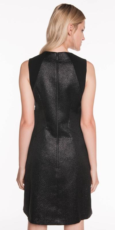 Dresses | Lurex Bow Detail Dress