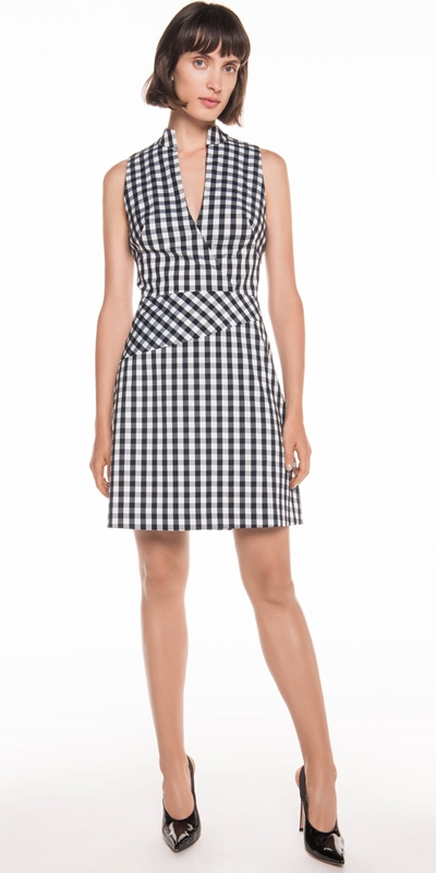 Dresses  | Gingham A-Line Dress