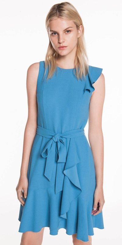 Sale | Soft Crepe Frill Dress