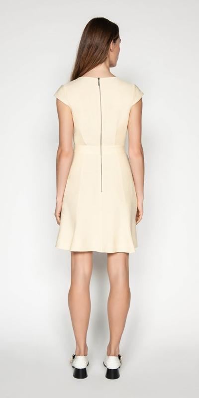 Dresses | Faille Wrap Front Dress