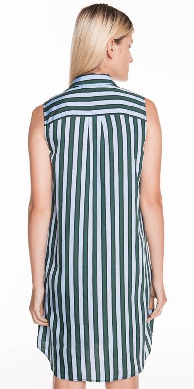 Dresses | Coloured Stripe Shirt Dress