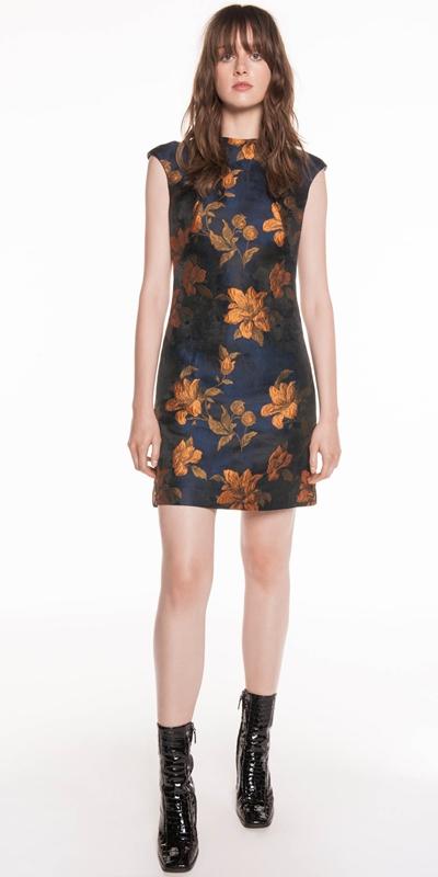 Dresses  | Rose Jacquard Dress