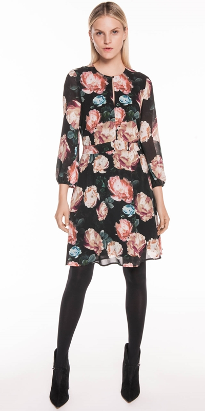 Sale | Rose Georgette Dress