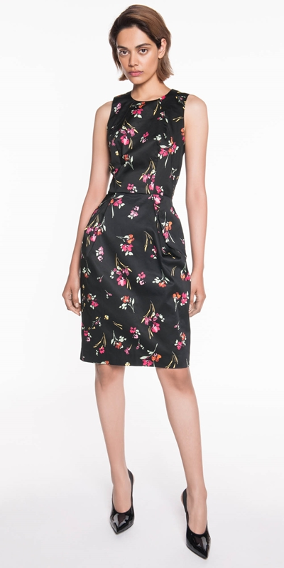 Sale  | Berry Floral Tulip Dress