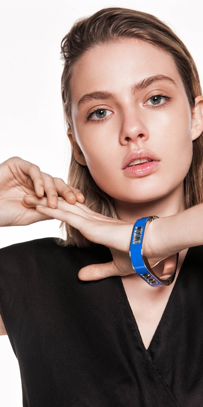 Accessories  | Cobalt Resin Bangle