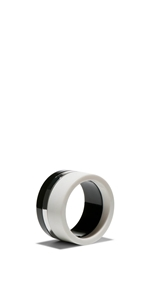 Accessories | Monochrome Resin Bangle