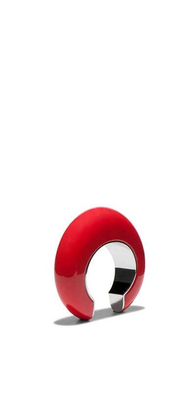 Accessories | Red Resin Bangle