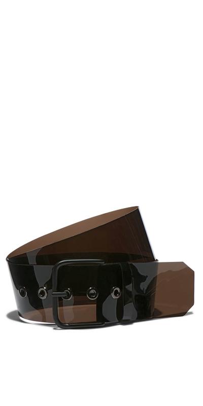 Accessories | Black Transparent Belt
