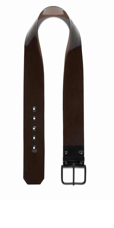 Accessories   Black Transparent Belt