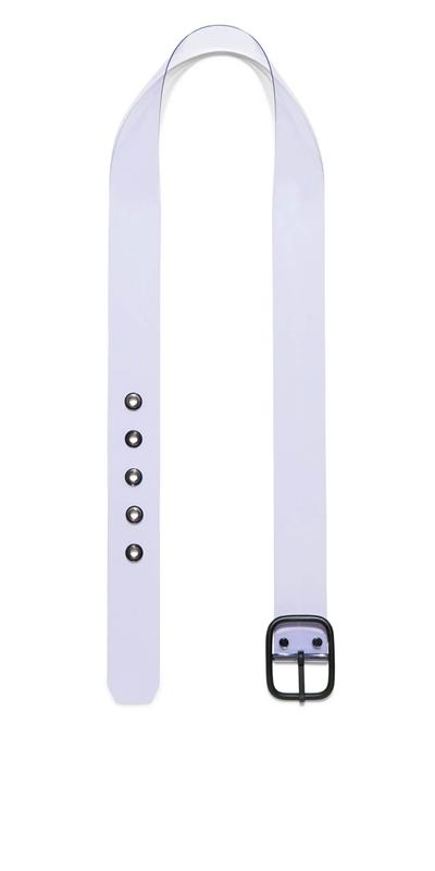 Accessories | Lilac Transparent Belt