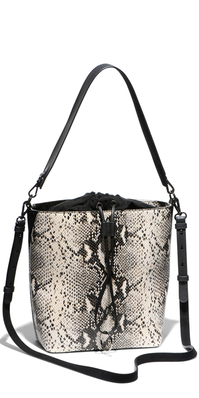 Accessories | Python Bucket Bag