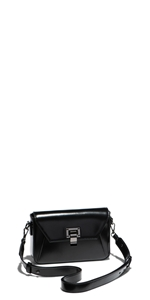 Accessories | Black Leather Belt Bag