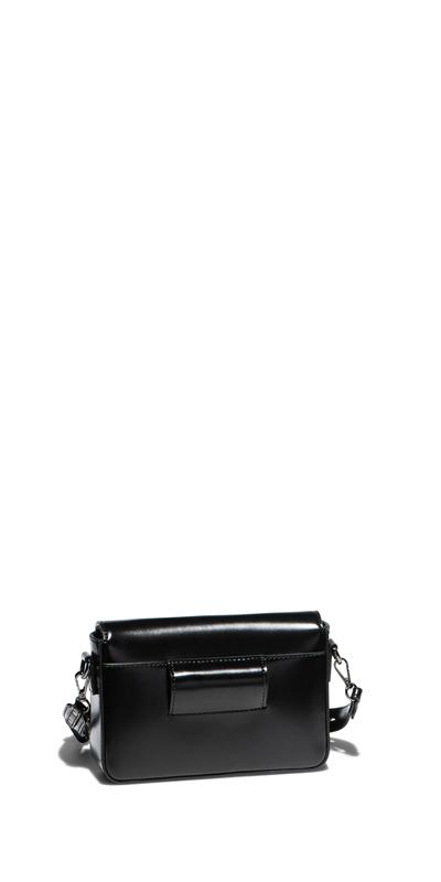 Accessories | Black Leather Belt Bag
