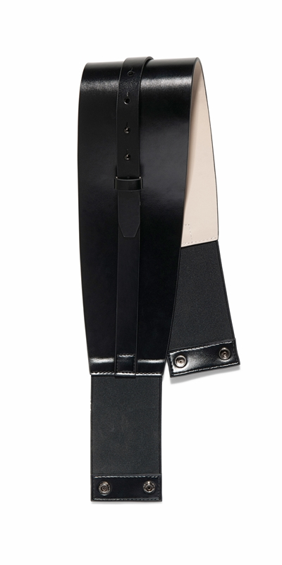 Accessories | Black Leather Corset Belt