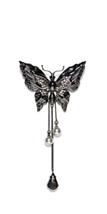 Accessories | Jewelled Butterfly Brooch