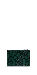 Accessories | Python Envelope Clutch
