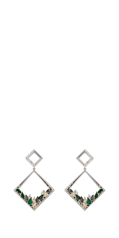 Accessories | Jewelled Geometric Earring