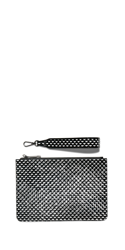 Accessories | Monochrome Leather Clutch