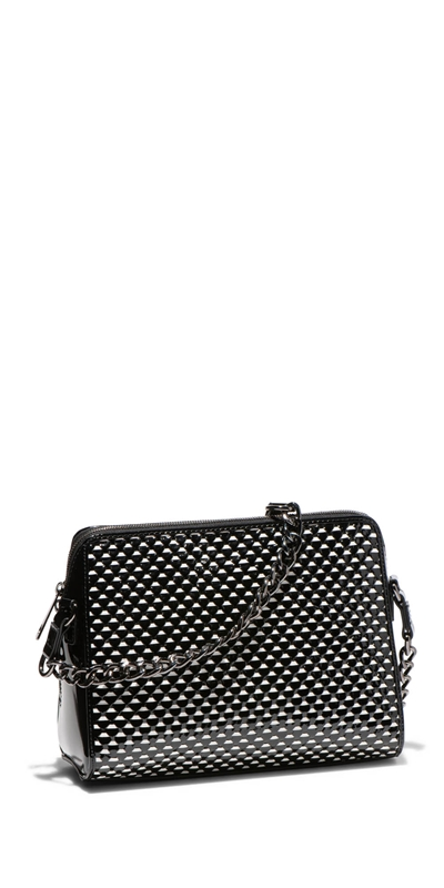 Accessories | Monochrome Leather Cross Body Bag
