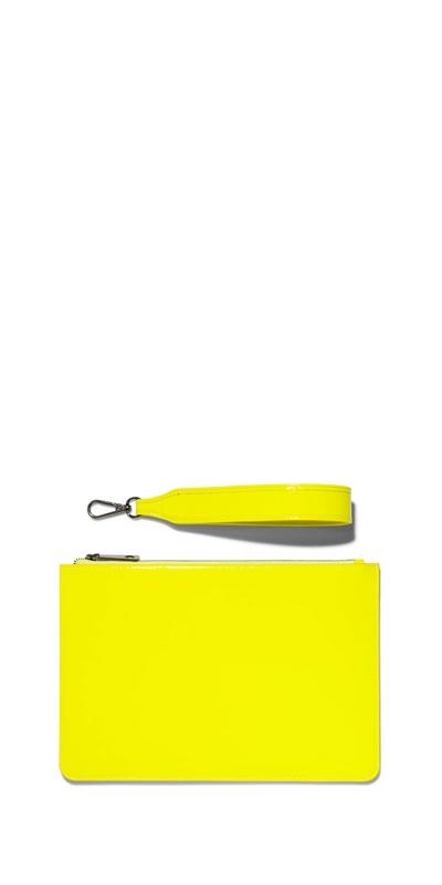 Accessories | Neon Yellow Clutch