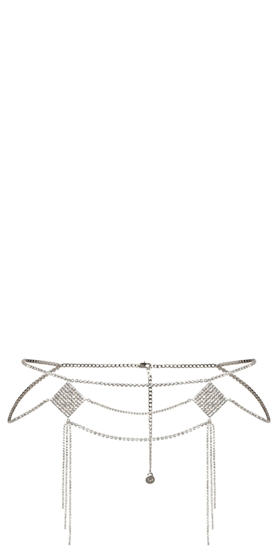 Accessories | Diamante Chain Belt
