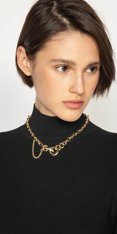 Accessories  | Gold Chain Necklace