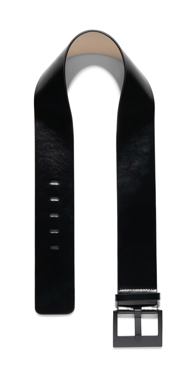 Accessories | Wide Matt Leather Belt