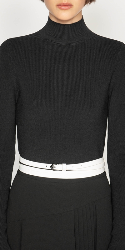 Accessories  | Ivory Wrap Belt