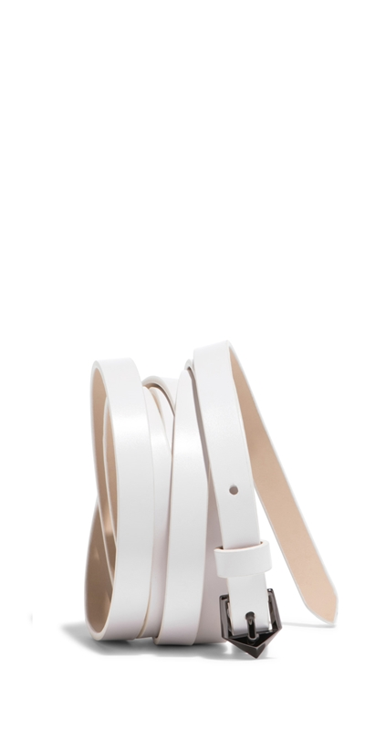 Accessories | Ivory Wrap Belt