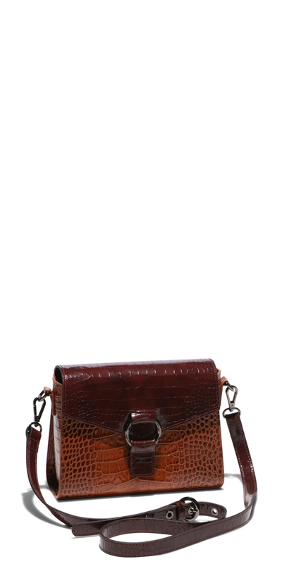 Sale | Spliced Croc Crossbody Bag