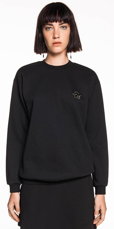 Sale  | Star Embellished Sweatshirt