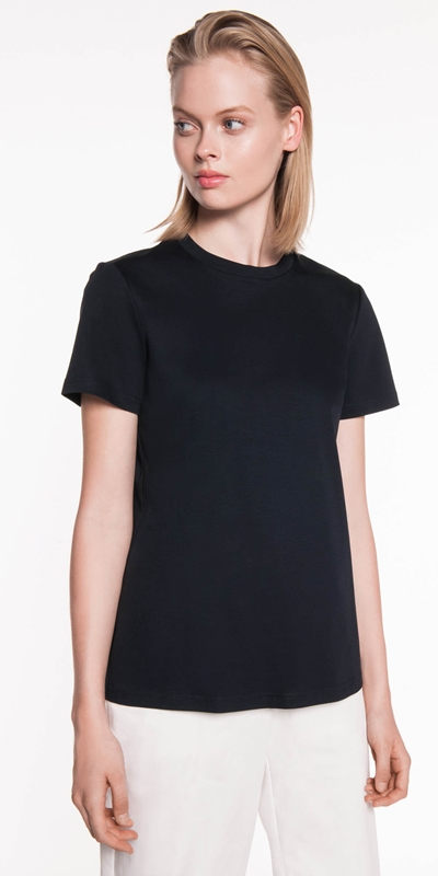 Tops  | Double Cotton Jersey Tee