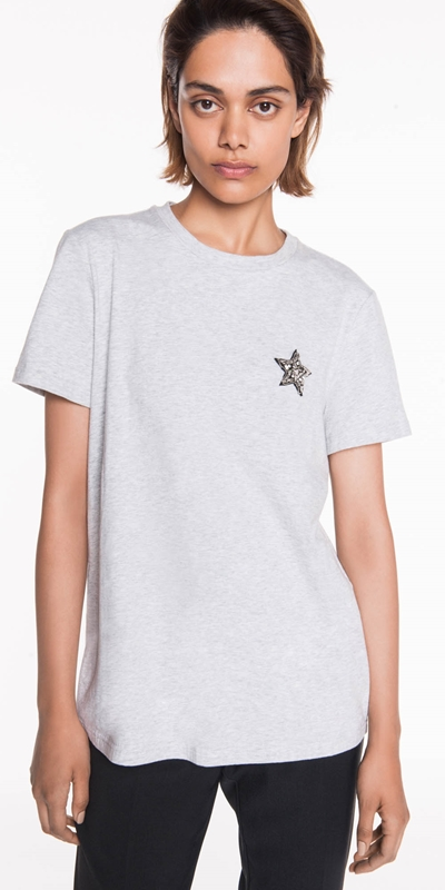 Tops  | Star Embellished Tee