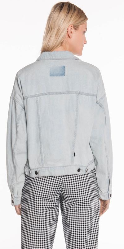 Jackets   Cropped Denim Jacket