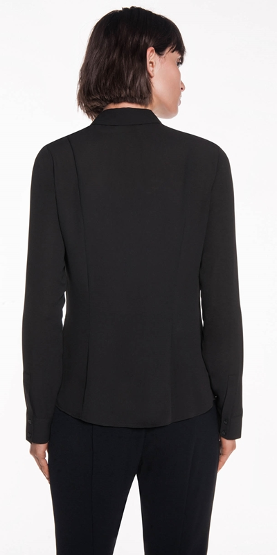 Shirts | Georgette Pocket Detail Shirt