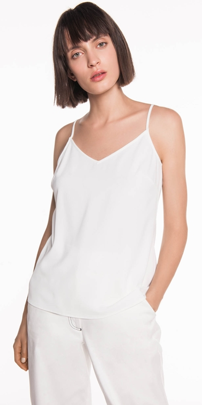 Tops | Soft Drapey Crepe Cami
