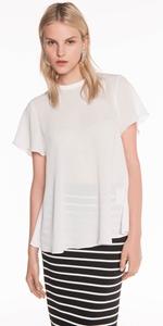 Shirts | Crinkle Georgette Top