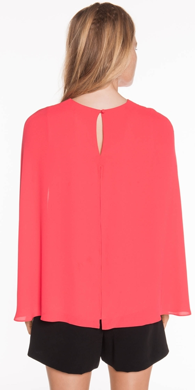 Shirts | Cape Sleeve Top