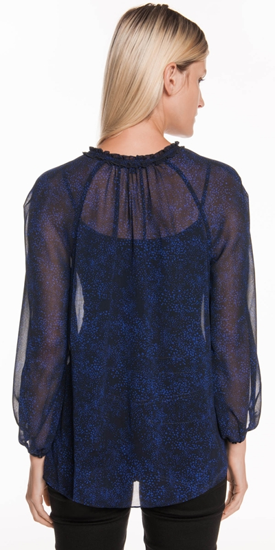 Shirts | Speckled Georgette Top