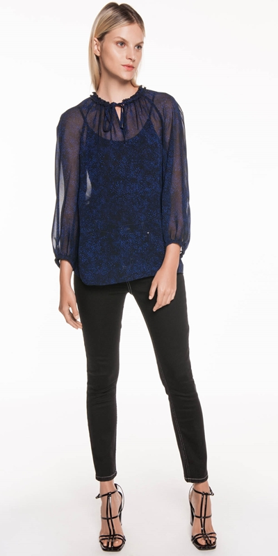 Tops  | Speckled Georgette Top