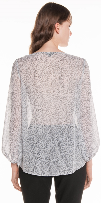 Shirts | Mini Floral Georgette Top