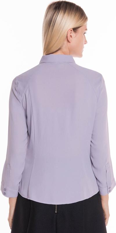 Shirts | Draped Tuck Button Front Shirt