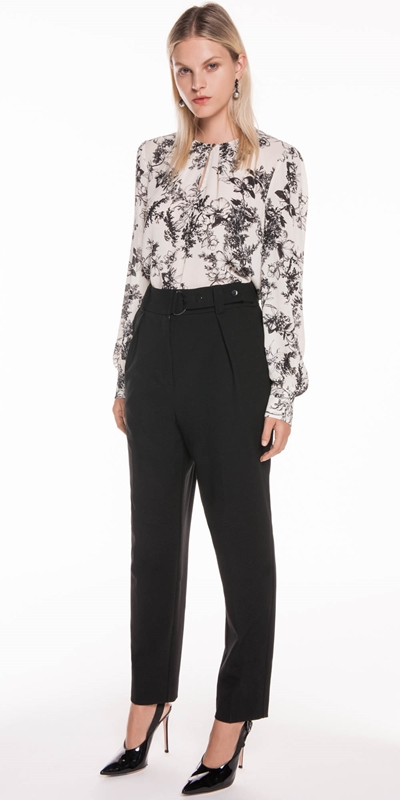 Wear to Work | Floral Georgette Top