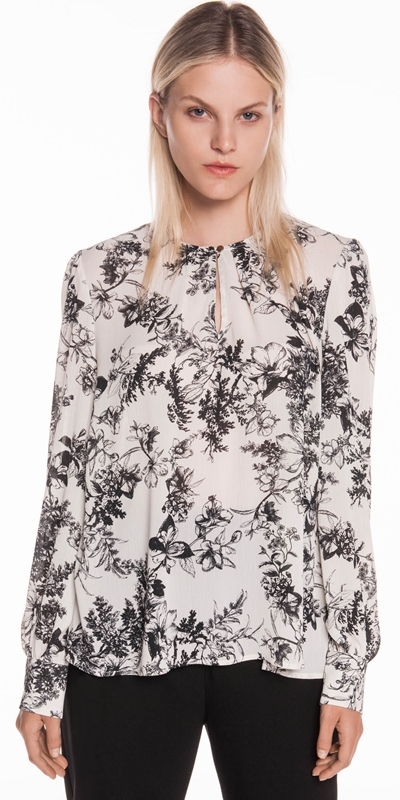 Shirts  | Floral Georgette Top