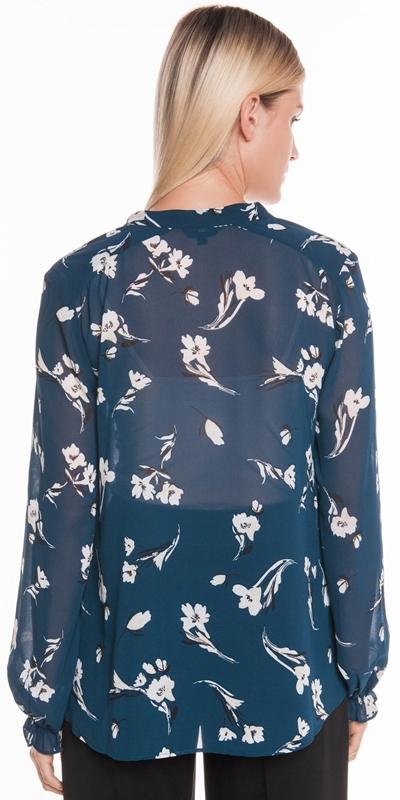 Shirts | Tonal Floral Georgette Blouse