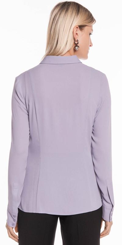 Shirts | Georgette Long Sleeve Shirt