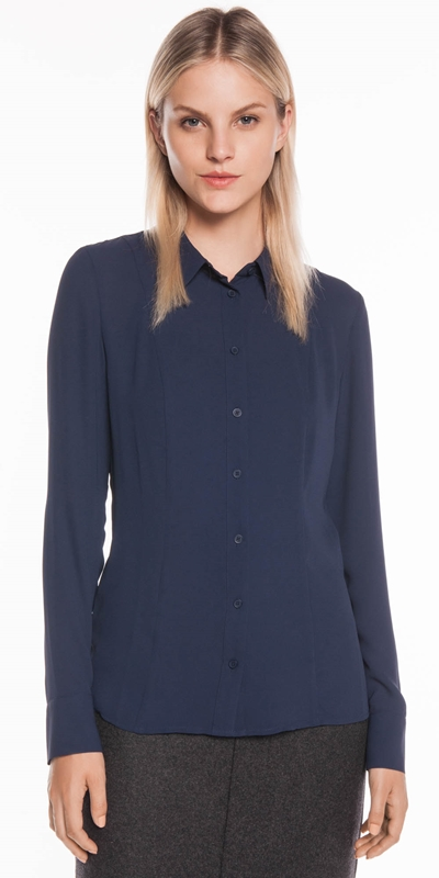 Tops  | Georgette Long Sleeve Shirt
